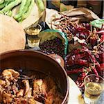 Lapin cuit aux ingrédients, île d'Ischia, Province de Naples, Campanie, Italie
