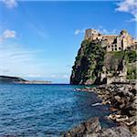 Château Aragonais, Ischia, Campanie, Italie
