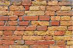 Brick Wall, Venice, Veneto, Italy