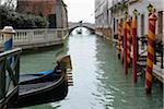 Bridge over Canal, Venice, Veneto, Italy