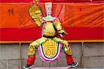 Paper replica offerings, Tin Hau festival at Joss House Bay, Hong Kong