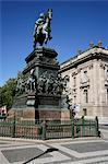 Friedrich Monument, Unter den Linden, Berlin, Allemagne, Europe