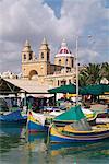 Marsaxlokk, Malte, Méditerranée, Europe