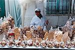 Nougat-Verkäufer, Medina, Tetouan, Marokko, Nordafrika, Afrika