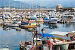 The port, Ajaccio, Corsica, France, Mediterranean, Europe