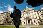 Gouvernement bâtiments, Wellington, North Island, Nouvelle-Zélande, Pacifique