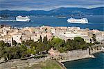 Old Town, Corfou, îles Ioniennes, îles grecques, Grèce, Europe