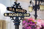 Rodeo Drive, Beverly Hills, Los Angeles, Californie, États-Unis d'Amérique, Amérique du Nord