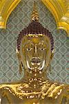 Golden Buddha statue, Wat Tramit (Temple of the Golden Buddha), Bangkok, Thailand, Southeast Asia, Asia