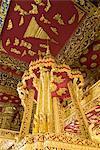 Interior, Wat Sen, Luang Prabang, Laos, Indochina, Southeast Asia, Asia