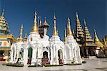 Shwedagon-Pagode in Yangon (Rangoon), Myanmar (Birma), Asien
