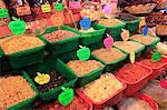Secs haricots, épicerie, ville d'Oaxaca, Oaxaca, au Mexique, en Amérique du Nord