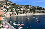 Harbor, Villefranche sur Mer, Alpes Maritimes, Côte d'Azur, French Riviera, Provence, France, Europe