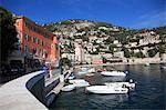 Harbor, Villefranche sur Mer, Alpes Maritimes, Cote d'Azur, French Riviera, Provence, France, Europe