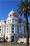 Hotel Negresco, Promenade des Anglais, Nice, Alpes Maritimes, Cote d'Azur, French Riviera, Provence, France, Europe
