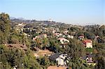 Hollywood Hills, Hollywood, Los Angeles, Californie, États-Unis d'Amérique, Amérique du Nord