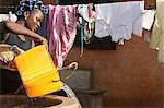 Wasser auch in Afrika, Lome, Togo, Westafrika, Afrika