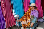 Woman at Ben Guerdane border market, Tunisia, North Africa, Africa