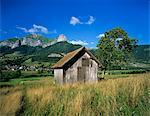 Montagnes des Bauges, Massif Des Bauges National Park (Parc des Bauges), Rhône Alpes, France, Europe