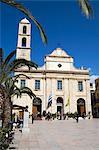 The Cathedral, Platia Mitropoleos, Chania (Hania), Chania region, Crete, Greek Islands, Greece, Europe