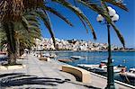 Le port, Sitia, Lassithi région, Crète, îles grecques, Grèce, Europe