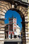 Trg Marsala Tita (place principale), Rovinj, Istrie, Croatie, Europe