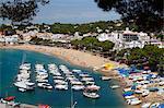 Llafranc, in der Nähe von Palafrugell, Costa Brava, Katalonien, Spanien, Mittelmeer, Europa