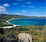 Plage de San Ciprianu, près de Porto Vecchio, Corse orientale du Sud, Corse, Méditerranée, Europe