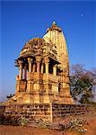 Chaturbhuj Temple à Khajuraho, construite en 1090AD et une partie du sud du groupe des temples, patrimoine mondial de l'UNESCO, Khajuraho, Madhya Pradesh, Inde, Asie