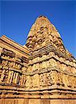 Xe siècle Jean Parsvanatha temple de Khajuraho, patrimoine mondial UNESCO, Madhya Pradesh, Inde, Asie