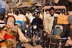 Street scene, Agra, Uttar Pradesh, India, Asia