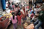 Market, Chichicastenango, Western Highlands, Guatemala, Central America