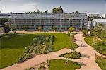 La serre énorme dans les Jardins Botanique (jardin botanique), Tours, Indre et Loire, Centre, France, Europe