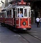 Conducteur de tramway, Istanbul, Istanbul, Turquie, Europe et Eurasie