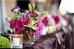 Flower Arrangements at Wedding, Toronto, Ontario, Canada