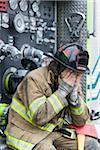 Firefighter, Florida, USA