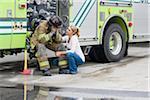 Firefighter and Girlfriend, Florida, USA