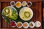 Thai cuisine ingredients, Chiang Mai, Thaliand