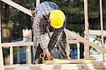 Carpenter measuring boards