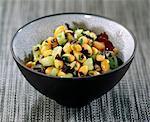 Salade de haricots et d'algues de soja