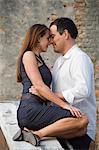 Italy, Venice, Mature couple embracing