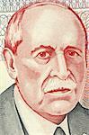 Eduardo Acevedo Vasquez (1857-1848) on 10 Pesos Uruguayos 1998 Banknote from Uruguay. Uruguayan  lawyer, historian and politician.