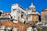 the ruins of Rome, the Forum Romano