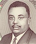 Prince Louis Rwagasore (1932-1961) on 100 Francs 2010 Banknote from Burundi. Burundi's national and independence hero.