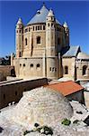 Dormition abbey on Mount Zion, Jerusalem, , Israel