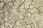 Deep cracks in the dried soil as a texture
