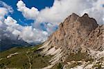 Apfelstrudel, Grödnerjoch und Sellagruppe, Val Gardena, Südtirol, Trentino Alto Adige, Italien