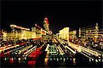 1980 1980s RETRO NEW YORK CITY NEW YORK CITY AT NIGHT BLURRED