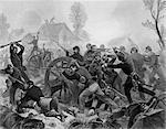 DER 1800ER 1860ER JAHRE SCHLACHT VON SHILOH APRIL 6-7 1862 PITTSBURG LANDING TENNESSEE A UNION SIEG IM AMERIKANISCHEN BÜRGERKRIEG