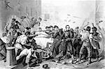 1800s 1860s APRIL 1861 6th VOLUNTEER MASSACHUSETTS MILITIA PASSING THROUGH BALTIMORE